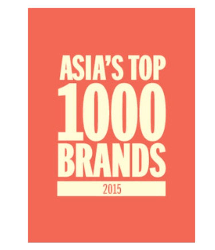 Top brands in Asia