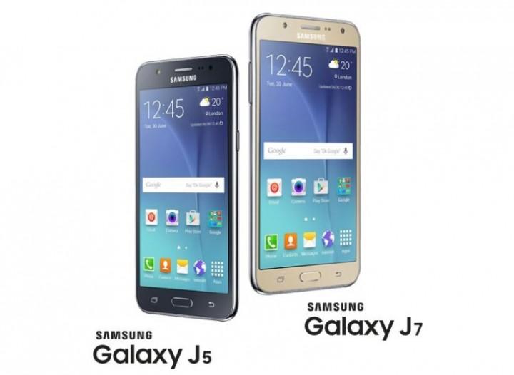 Samsung GALAXY J7 & GALAXY J5